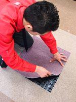 床の貼り替え